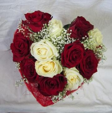 Bouquet De Rose Rouge Et Blanche Map Titecampagne